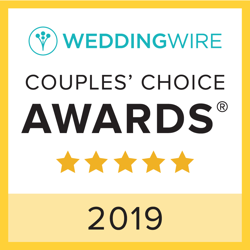 Wedding Wire Couples Choice Award 2019 badge
