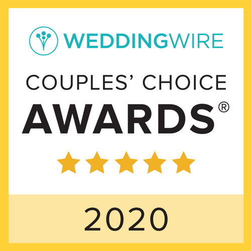 Wedding Wire Couples Choice Award 2020 badge